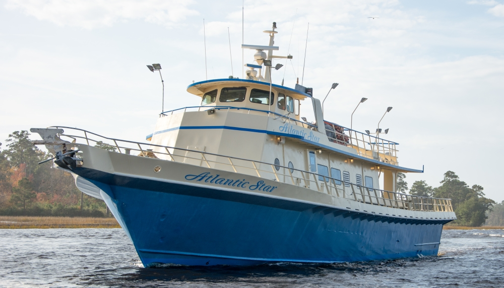 The famous Atlantic Star 105' Charter Fishing Party Boat Myrtle Beach SC
