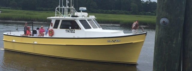 Black Hawk Myrtle Beach Deep Sea Fishing Charter Boat.